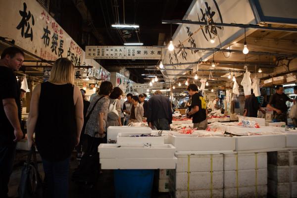 Inner fish market
