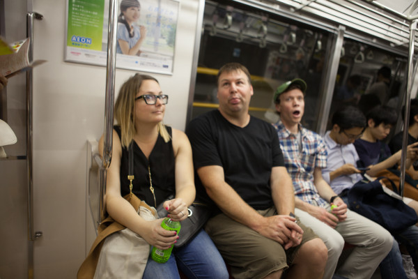 Who are these weirdos on the subway?
