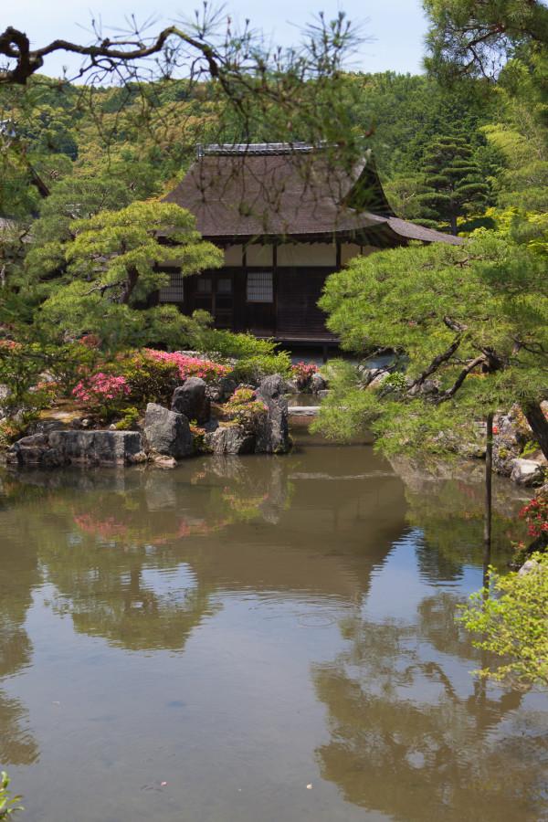 The vill at Ginkaku-ji