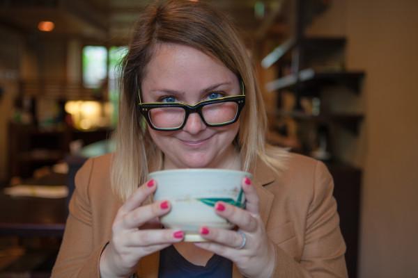Enjoying Matcha at Ippodo Tea Co.