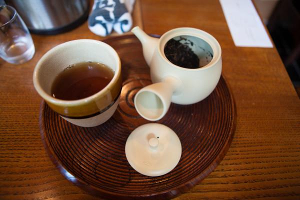 Hojicha (Andrew's favorite) at Ippodo Tea Co.