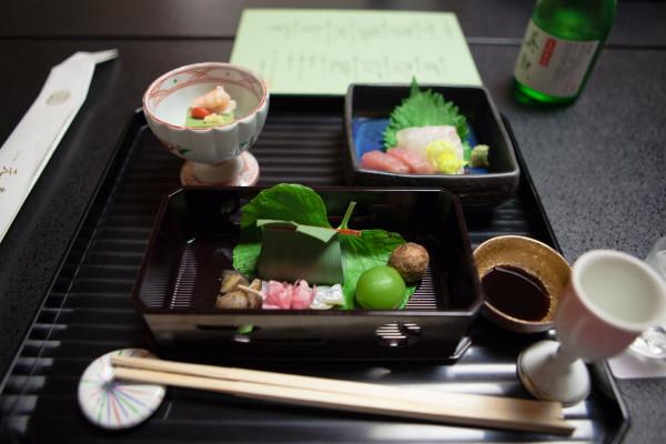 Kaiseki dinner at the Ryokan