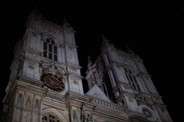 Charles Darwin is sleeping here; Westminster Abbey