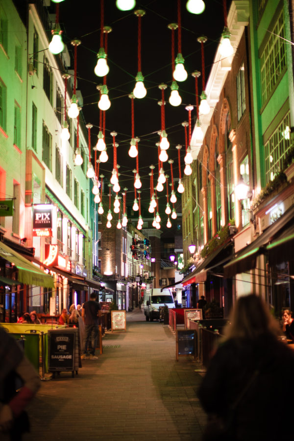 Some evening shots of Carnaby St. area
