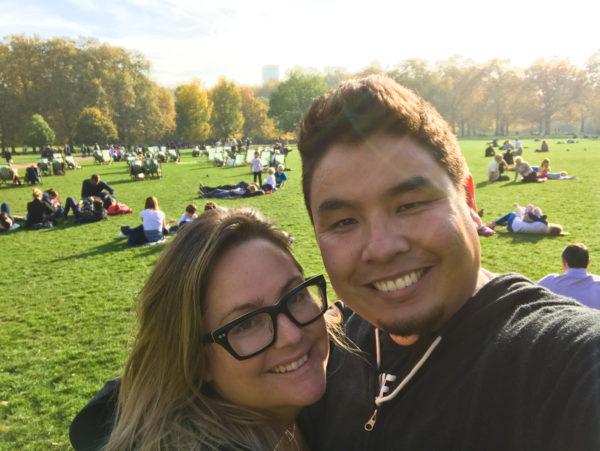 Chillin at Green Park